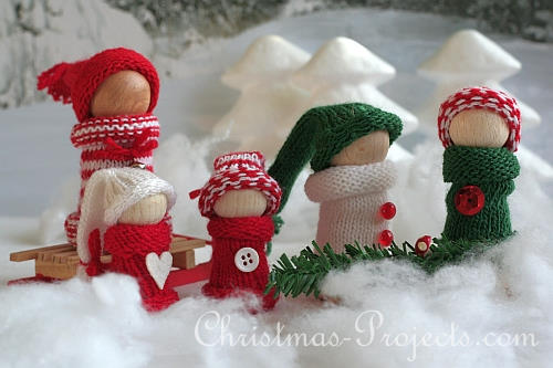 Winter Snow Family (Photo from Christmas-Projects.com)