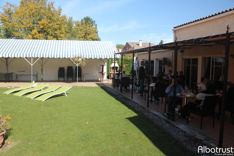 photo du golf Garden Golf de Digne-les-Bains - Parking