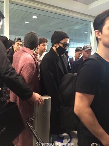 Big Bang - Harbin Airport - 22mar2015 - 唯愛膩利利利利利利利 - 01