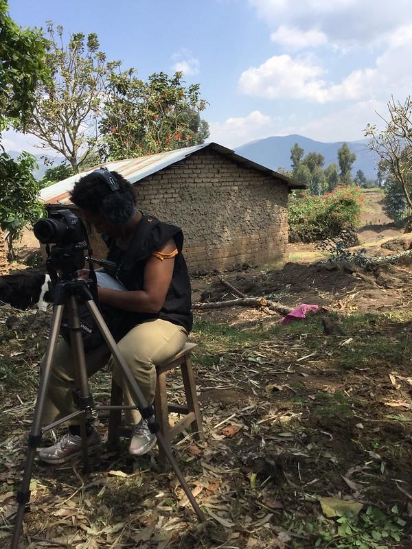 Meanwhile,… on Mt. Karisimbi, Rwanda