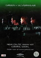 Celtic vs Barcelona - 2004 - Back Cover Page