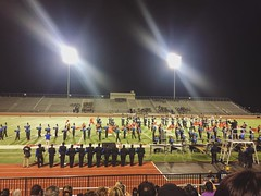 Pais and I attended the Irving ISD Band Showcase and cheered for our talented niece and nephew (her cousins). 🎷🎼