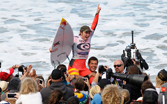 Congratulations to Carissa Moore, the 2013 Rip Curl Women's Pro champion.