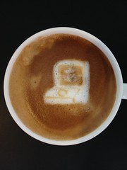 Today's latte, Google Japanese Input Pata-Pata Version!