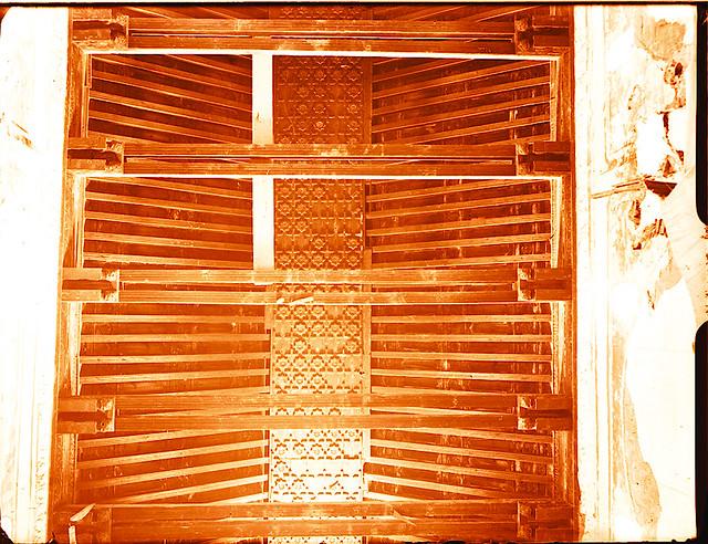 Artesonado de Santiago del Arrabal.   Fotografía de Pedro Román © Fondo Rodríguez. Archivo Histórico Provincial. JCCM. Signatura R-131-1-03