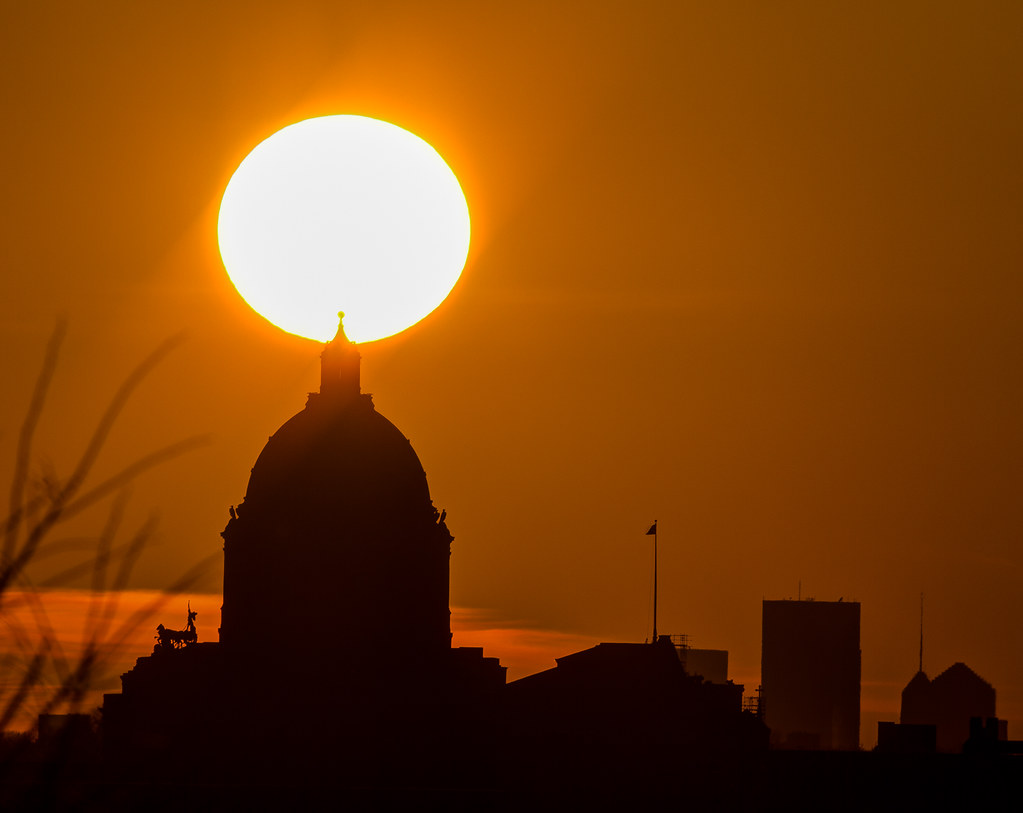 Capitol Sunset - St. Paul, MN