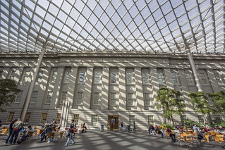The Robert and Arlene Kogod Courtyard