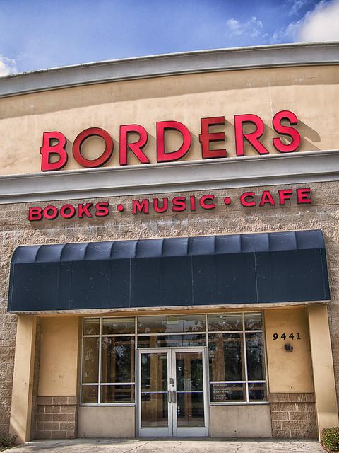 former borders entrance