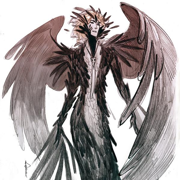 Major Thunder #7 The Citizen ''raven'' form