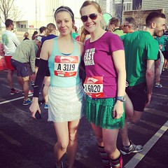 Shamrock shuffle with @xaarlin in corral A