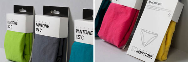 ropa interior PANTONE