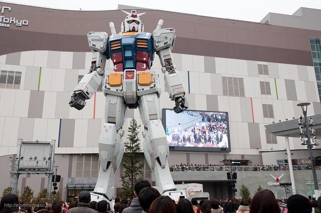 Tokio - Gundam de Odaiba