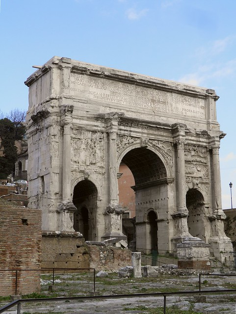 Arch of Septimius Severus, Roman Forum, Rome