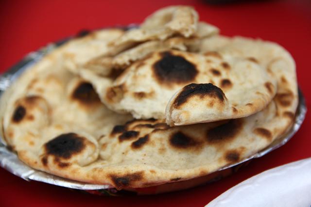 Marvelous tandoori rotis
