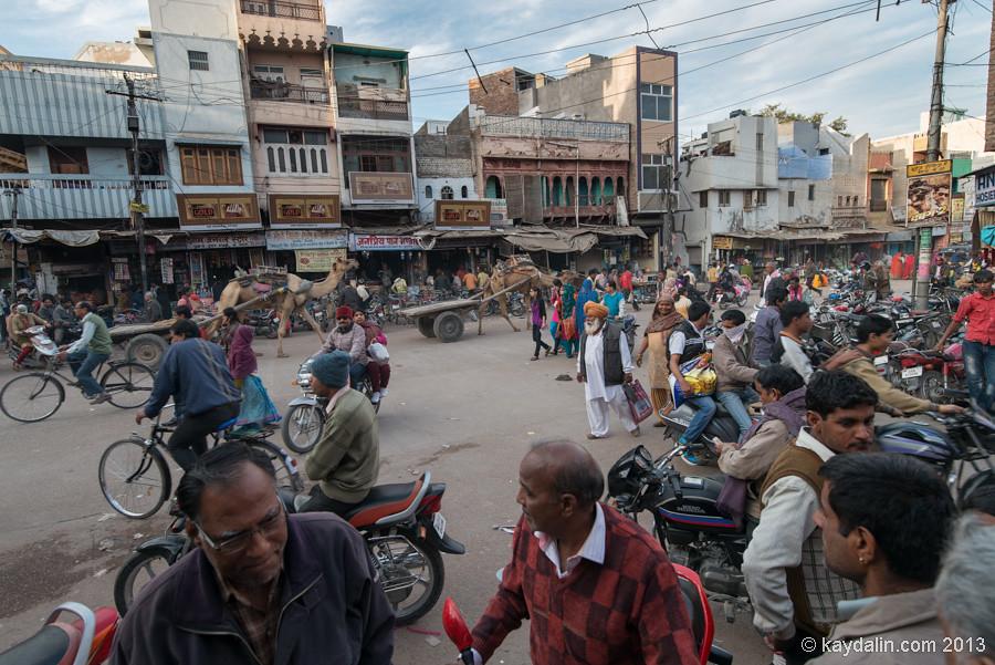 Город Биканер. Индия