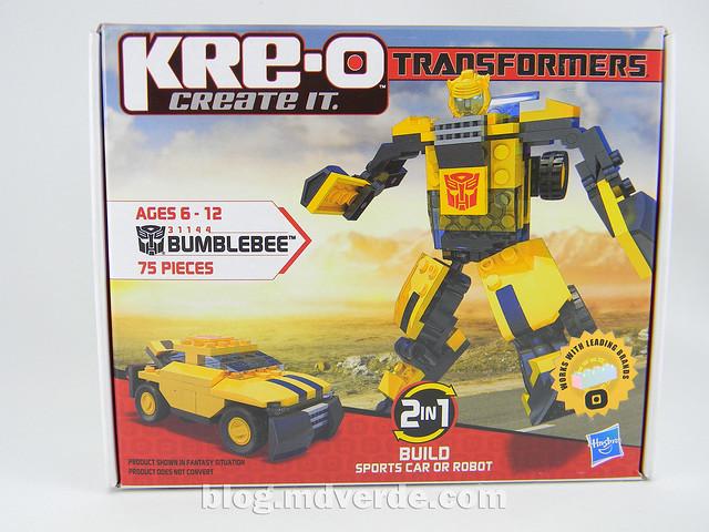 Transformers Bumblebee - Kre-O - caja