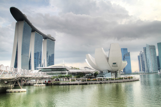 Singapore Arts Museum + Marina Bay Sands