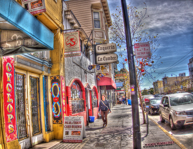 Heart of Valencia Street, HDR