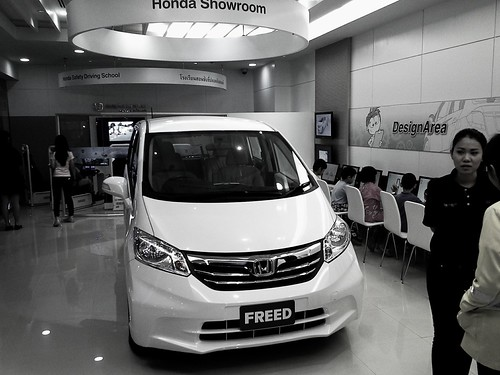 Kidzania Siam Paragon Car Showroom & Autocad