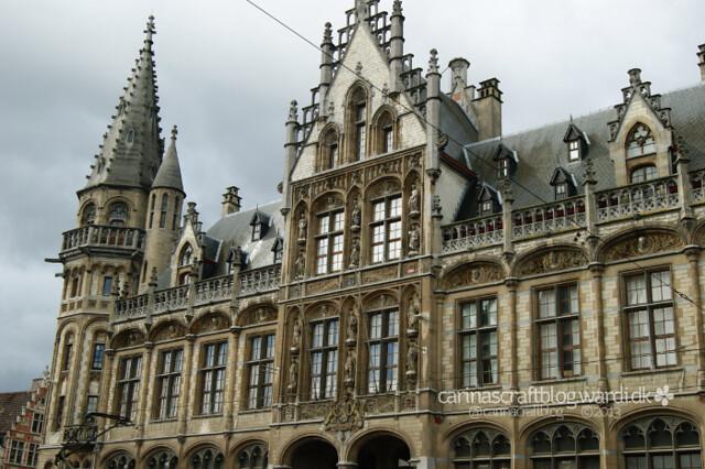 Oud Postkantoor, Korenmarkt, Gent
