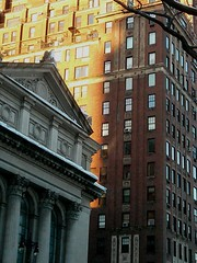 Glittering buildings