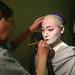 Mizuka getting makeup