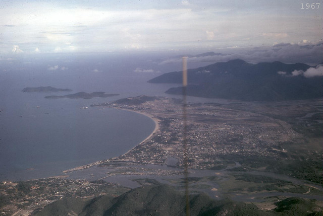 1967 Nha Trang Looking South, Cam Ranh Bay in distance