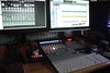 Palm Recording Studio new Mackie MCU Pro Controler running Pro Tools 10