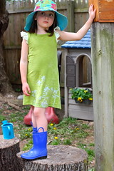 improv sewing tshirt dress