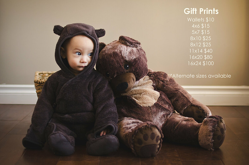 gift print pricing