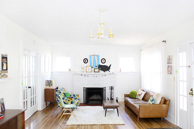 welcome to our home: living room tour