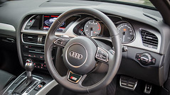 automotive exterior(0.0), wheel(0.0), automobile(1.0), vehicle(1.0), automotive design(1.0), audi q5(1.0), steering wheel(1.0), audi a5(1.0), land vehicle(1.0), luxury vehicle(1.0),