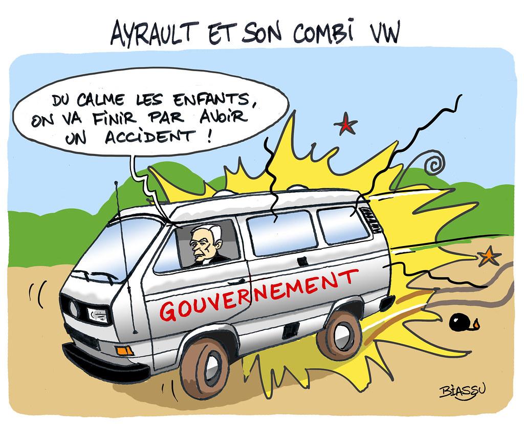 Ayrault+patrimoine+Combi+volkswagen+humour