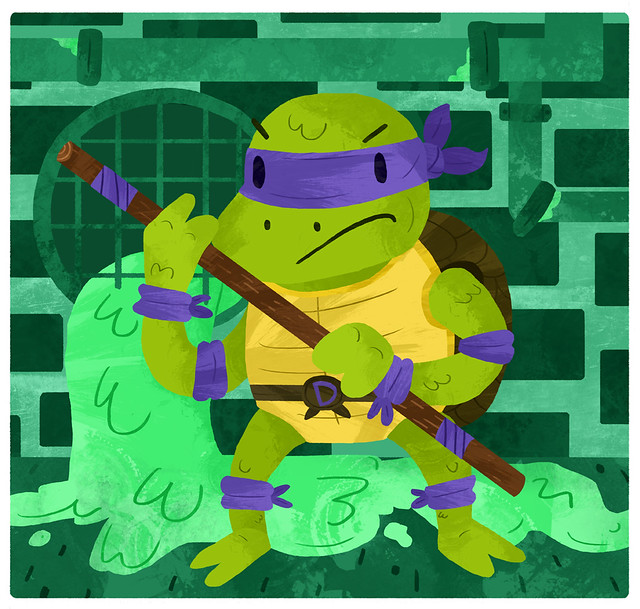 Donatello does machines (That's a fact, Jack!)