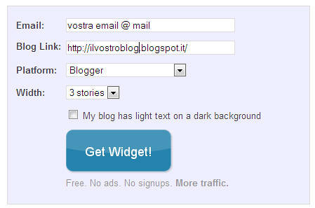 tutorial linkwithin, come aggiungere il gadget  linkwithin sul blog 1