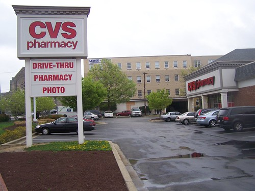 CVS Parking lot, Carroll Avenue, Takoma, DC