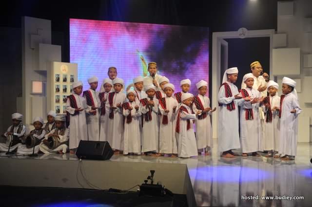 Kemuncak Da'i diserikan dengan penampilan istimewa daripada kumpulan nasyid UNIC dengan diiringi oleh adik-adik Qhasidah dari Kelab Berselawat Anak-Anak As Sidiq