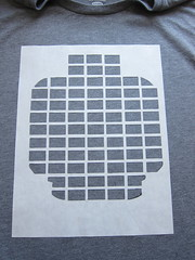 Iron Craft '13 Challenge #8 - Lego DJ T-Shirt