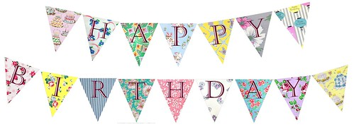 Printable Birthday Bunting