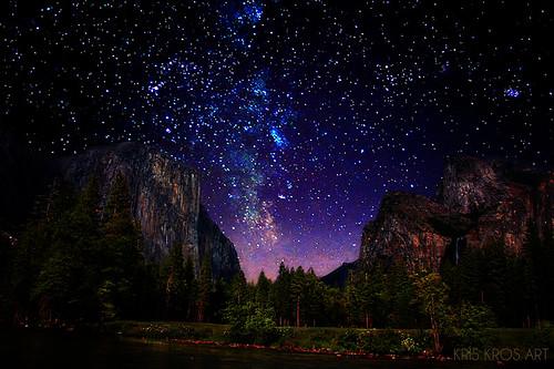 starry starry yosemite