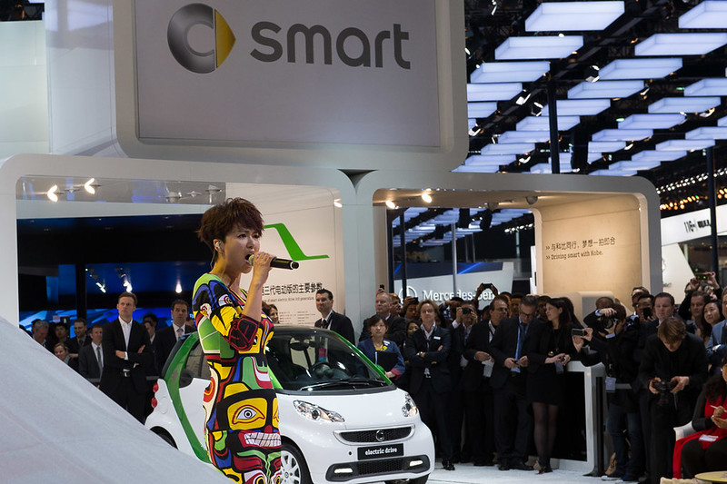 Auto Shanghai 2013: smart press conference