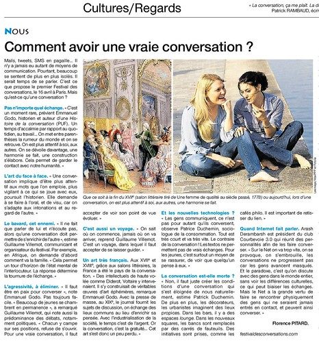 "Interview de Arash Derambarsh (Président du Club ""Courbevoie 3.0"") dans le journal Ouest-France by Arash Derambarsh"