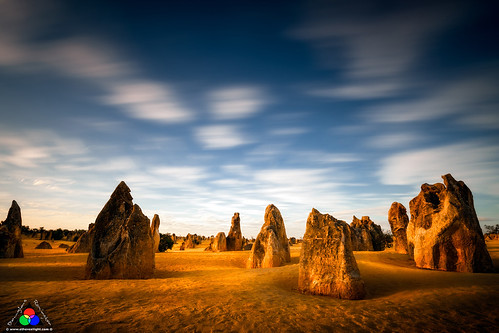 Nambung pinnacles, Western Australia by Douglas Remington - Ethereal Light® Photography