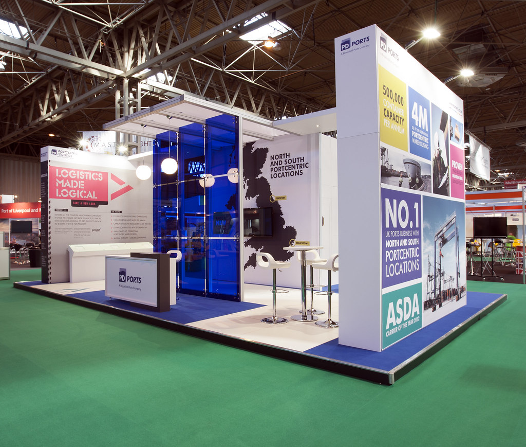 Exhibition Stand Logistics : Pd ports multimodal exhibition stand in action were proudu2026 flickr