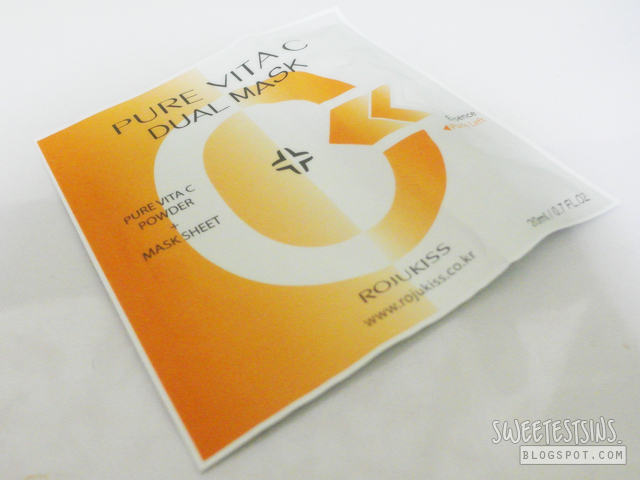 bellabox march 2013 rojukiss pure vita c dual mask