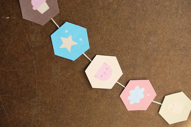 Printable Hexagon Cuties