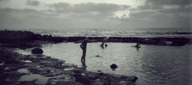 Akhziv beach