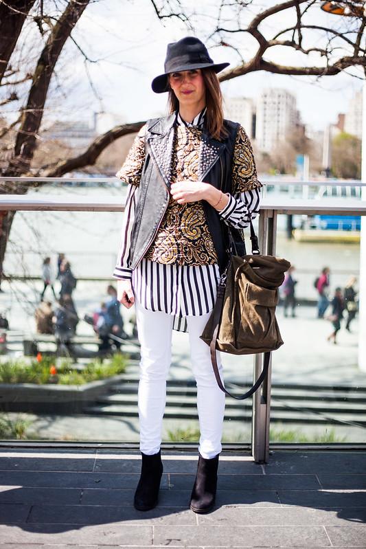 Street Style - Mariana, Vogue Festival