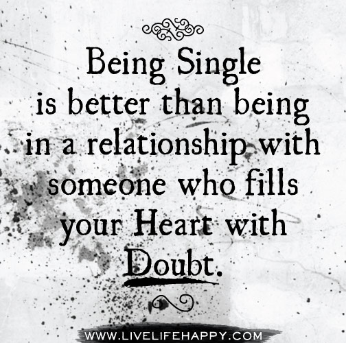 Being Single Is Better