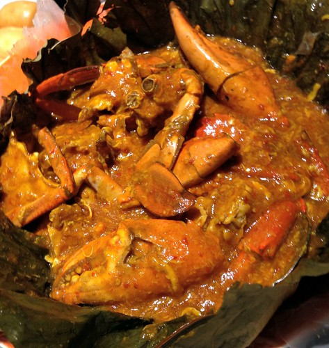 Braised Chili Crab at The Boxing Crab